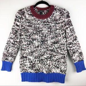 J. Crew Colorblock Sweater - Size XS